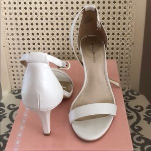 Bandolino ankle strap heels